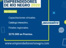Inscribite a Emprendedores de Río Negro 2020